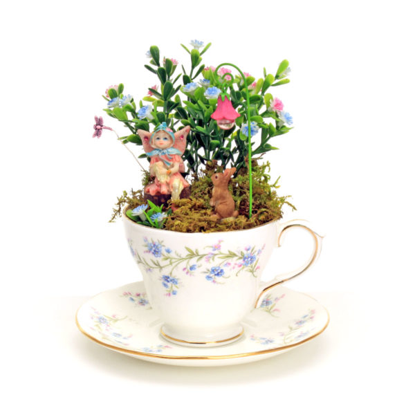 Blue China Cup