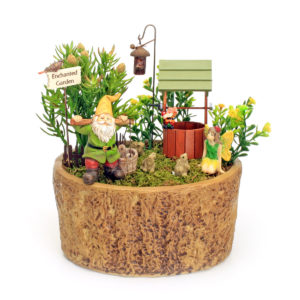 Fetching Water Fairy Garden