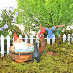 Bathing Gnome & Washing Line