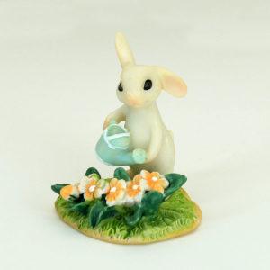 Bunny & Flower Garden