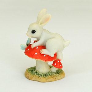 Bunny on Toadstool