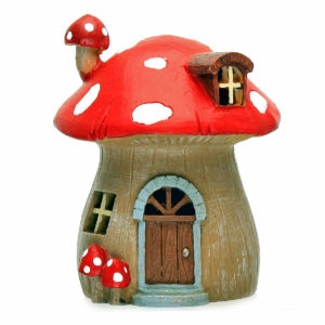 Mushroom Fairy House with LED light