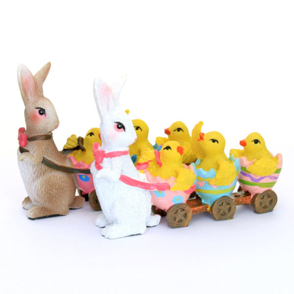 Easter Bunny and Chicks