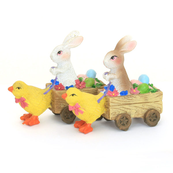 Easter Bunny Cart