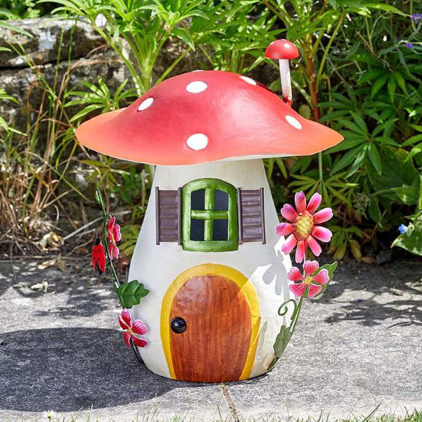 Mushroom Condo Fairy House