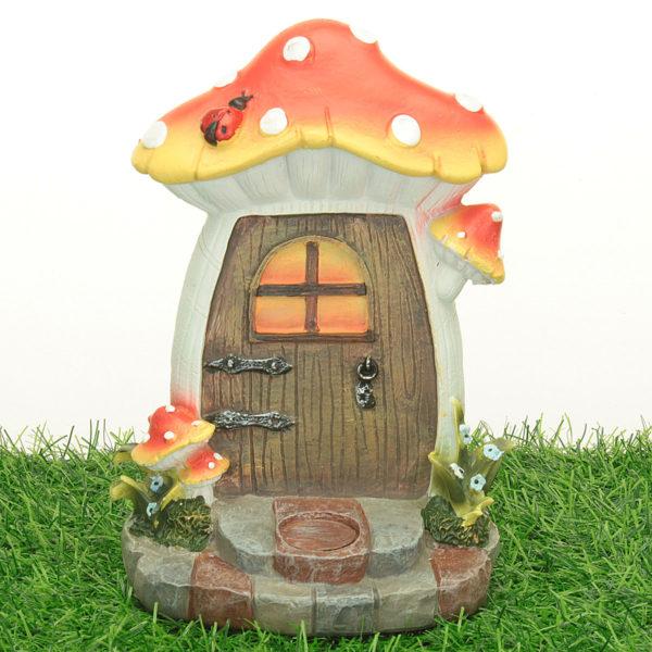 Mushroom Fairy Door