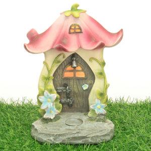 Flower Fairy Door and Steps