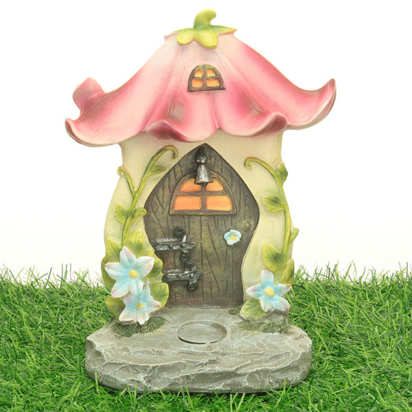 Flower Fairy Door and Steps