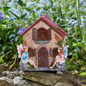 Fairy House with Solar Lights