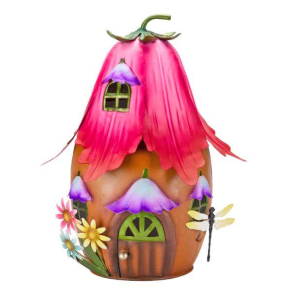 Fuchsia Fairy House
