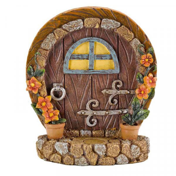Brown Fairy Door & Step