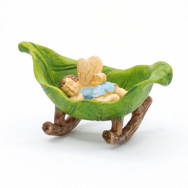 Baby Fairy & Cradle
