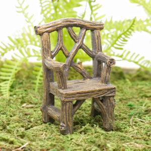 Wood Effect Garden Chair