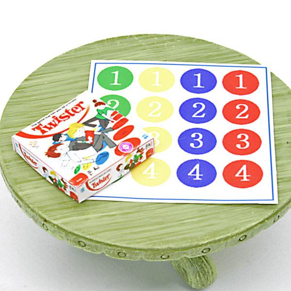 Miniature Twister Game