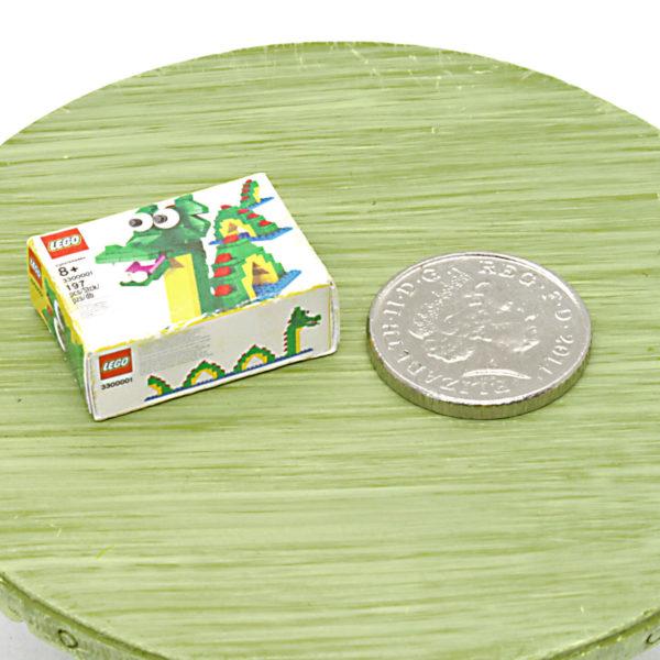 Miniature box of Lego