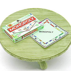 Mini Monopoly Board Game