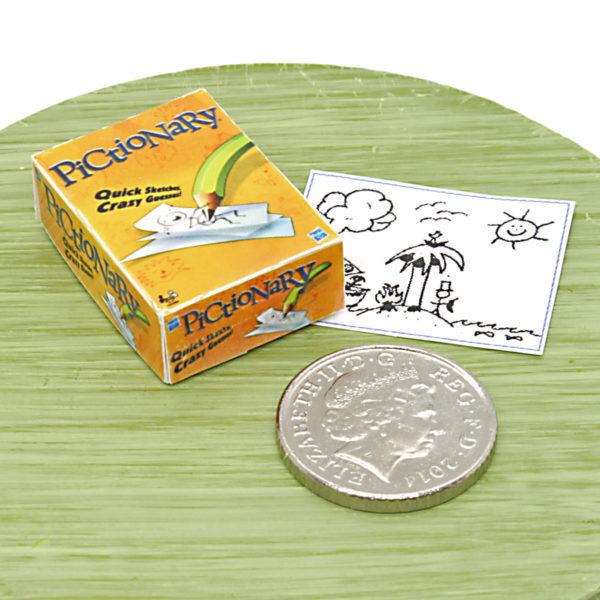Mini Pictionary Board Game